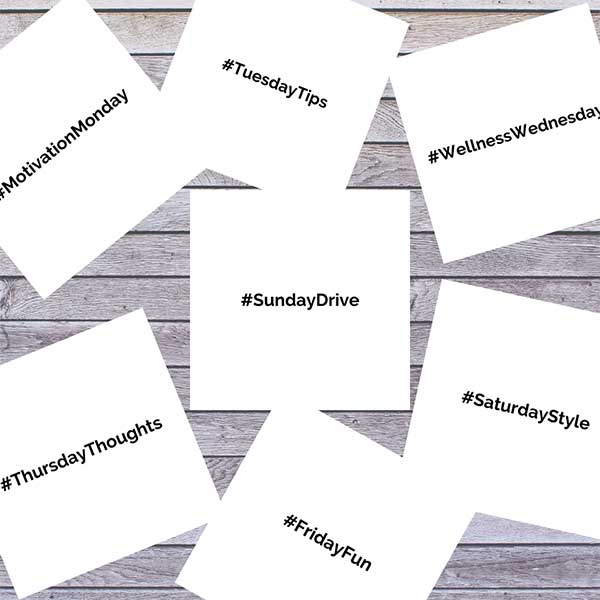Hashtag Days of the Week Preview