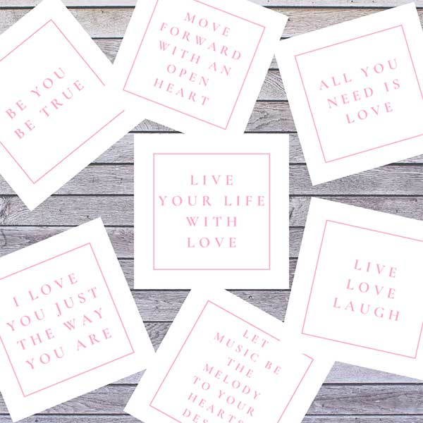 White & Pink Heartfelt Preview