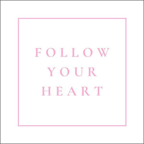 White & Pink Heartfelt