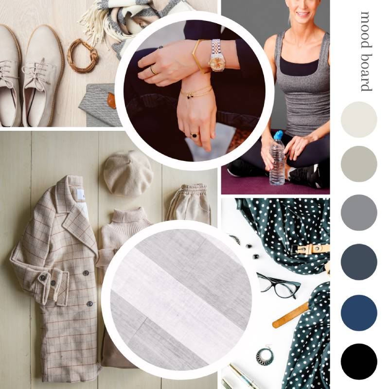 Client example of mood board